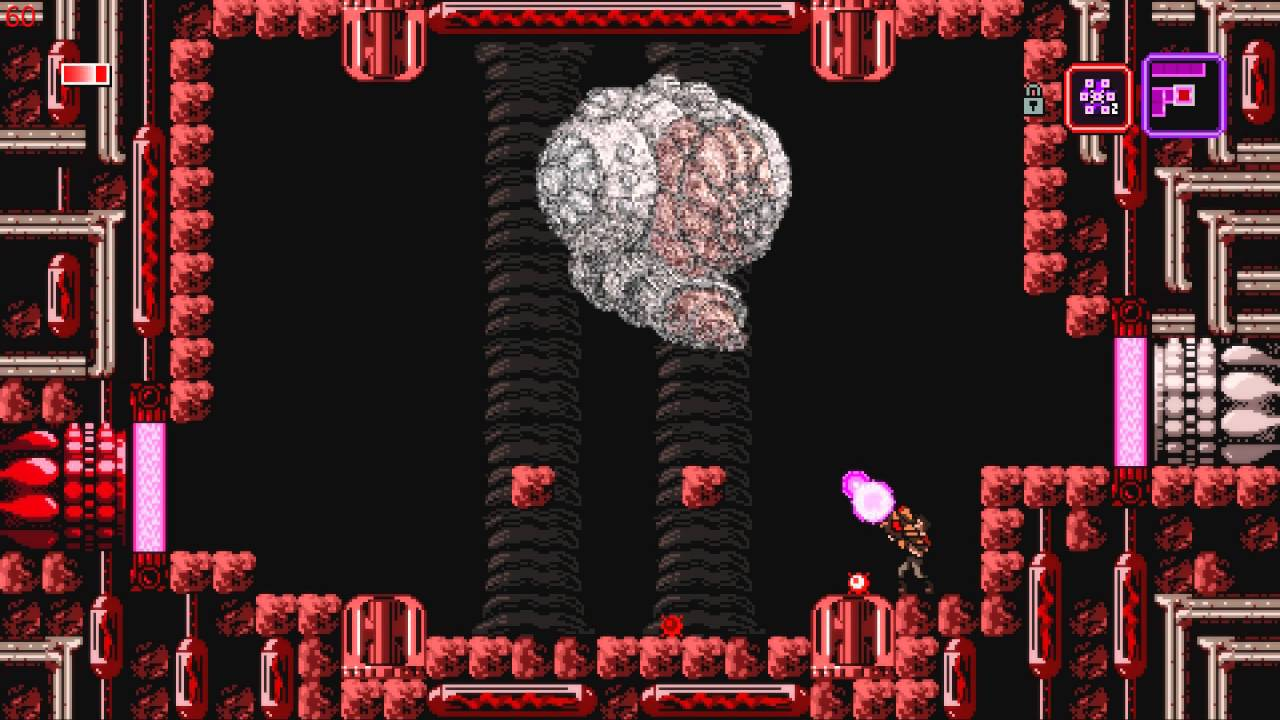Axiom Verge MacBook Version gameplay