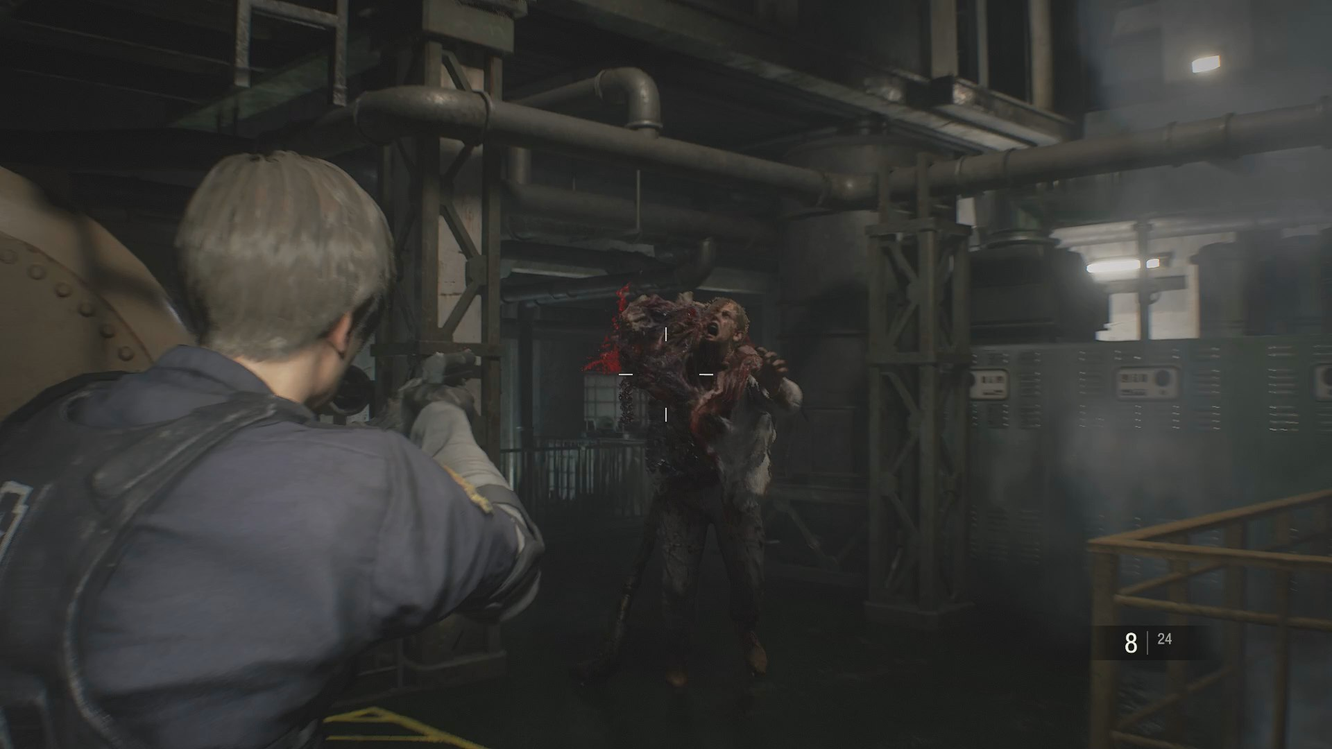 Resident Evil 2 for MacBook gameplay