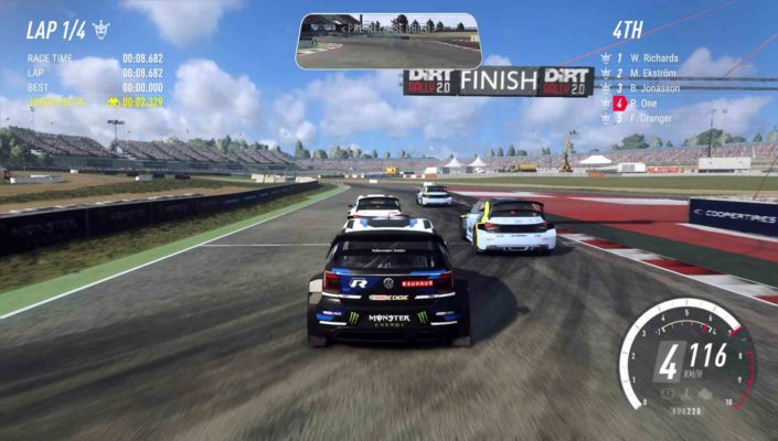 Dirt Rally 2.0 MacBook Version gameplay