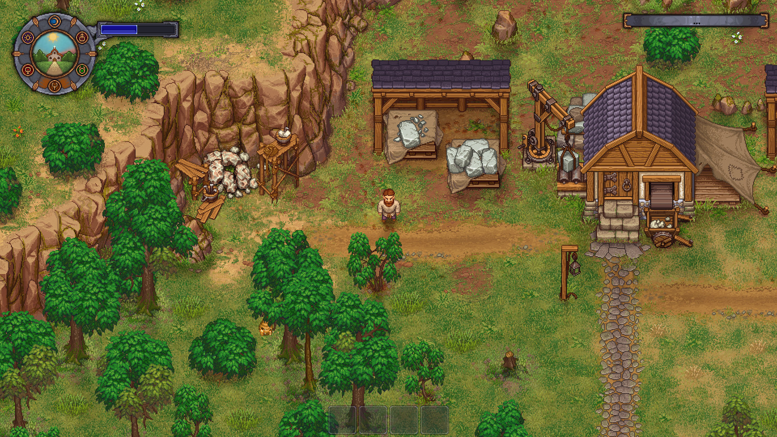 Graveyard Keeper for MacBook gameplay