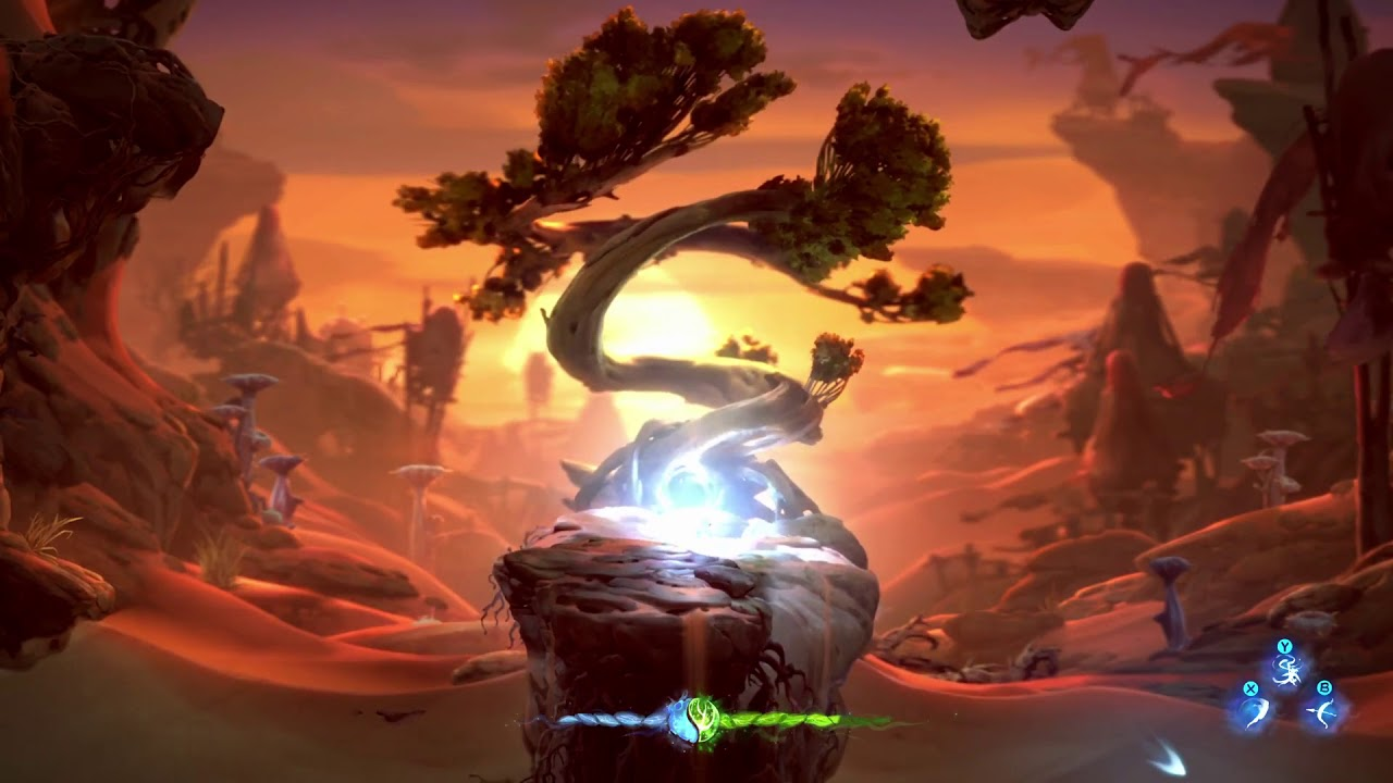 Ori and the Will of the Wisps for MacBook gameplay