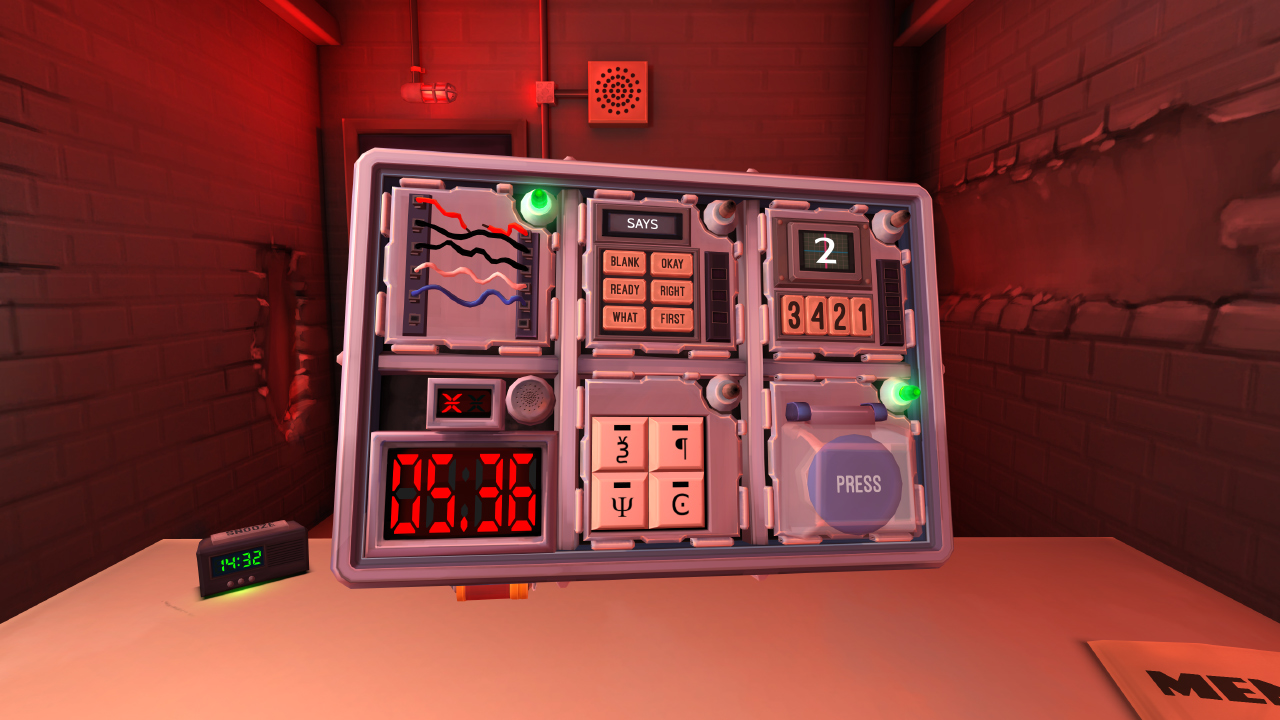 Keep Talking and Nobody Explodes for MacBook gameplay