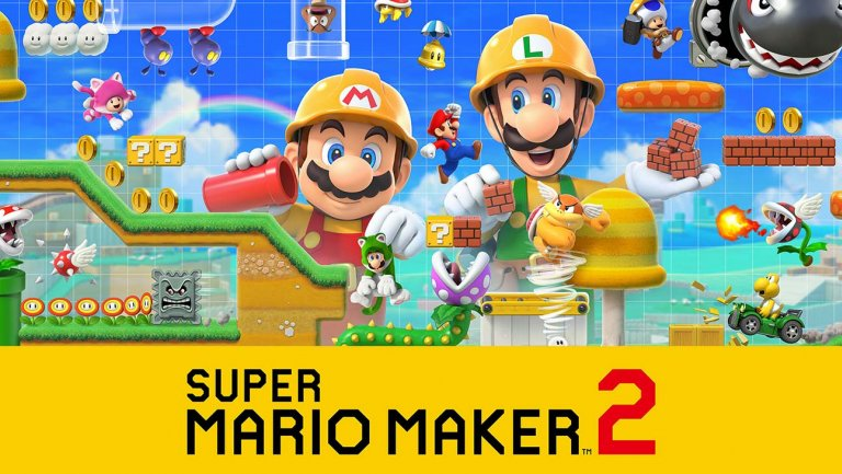 Super Mario Maker 2 MacBook Version