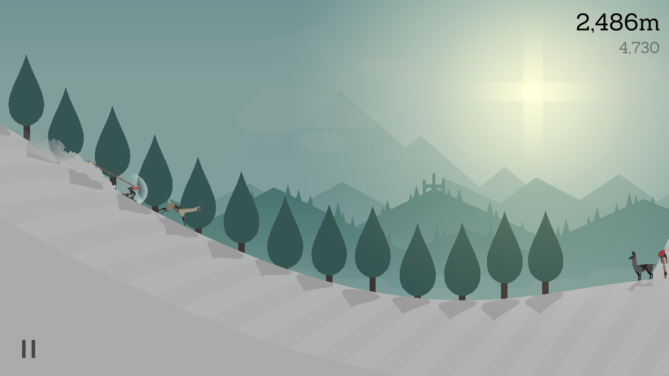 Alto's Adventure MacBook Version gameplay