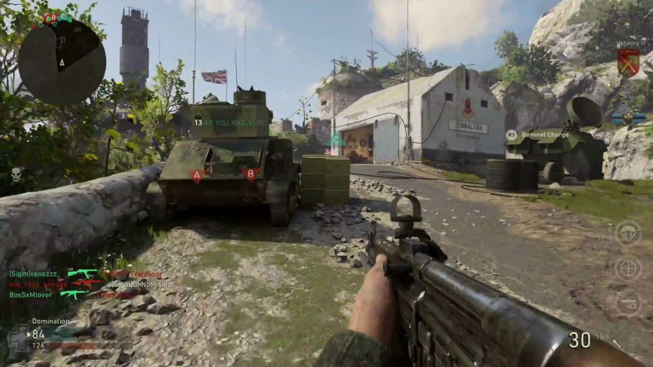 Call of Duty: WWII for MacBook gameplay