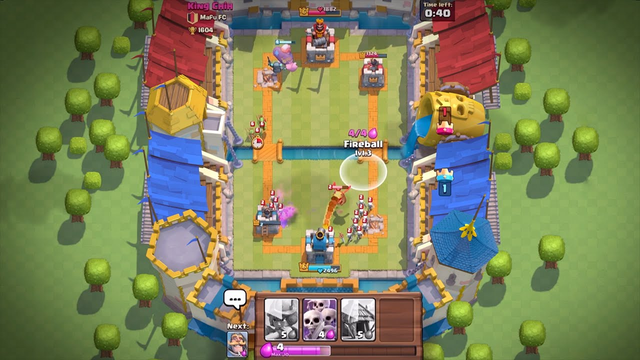 Clash Royale for macOS gameplay