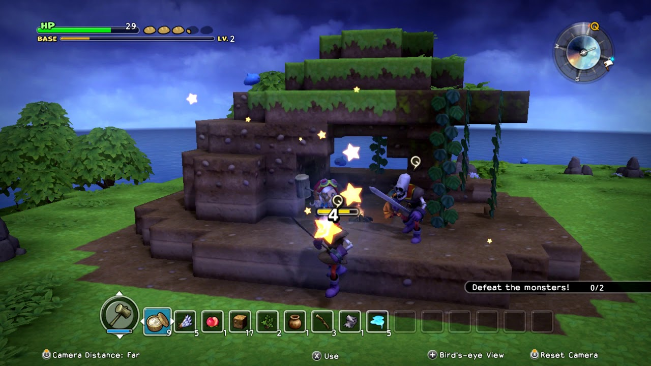 Dragon Quest Builders 2 for macOS gameplay