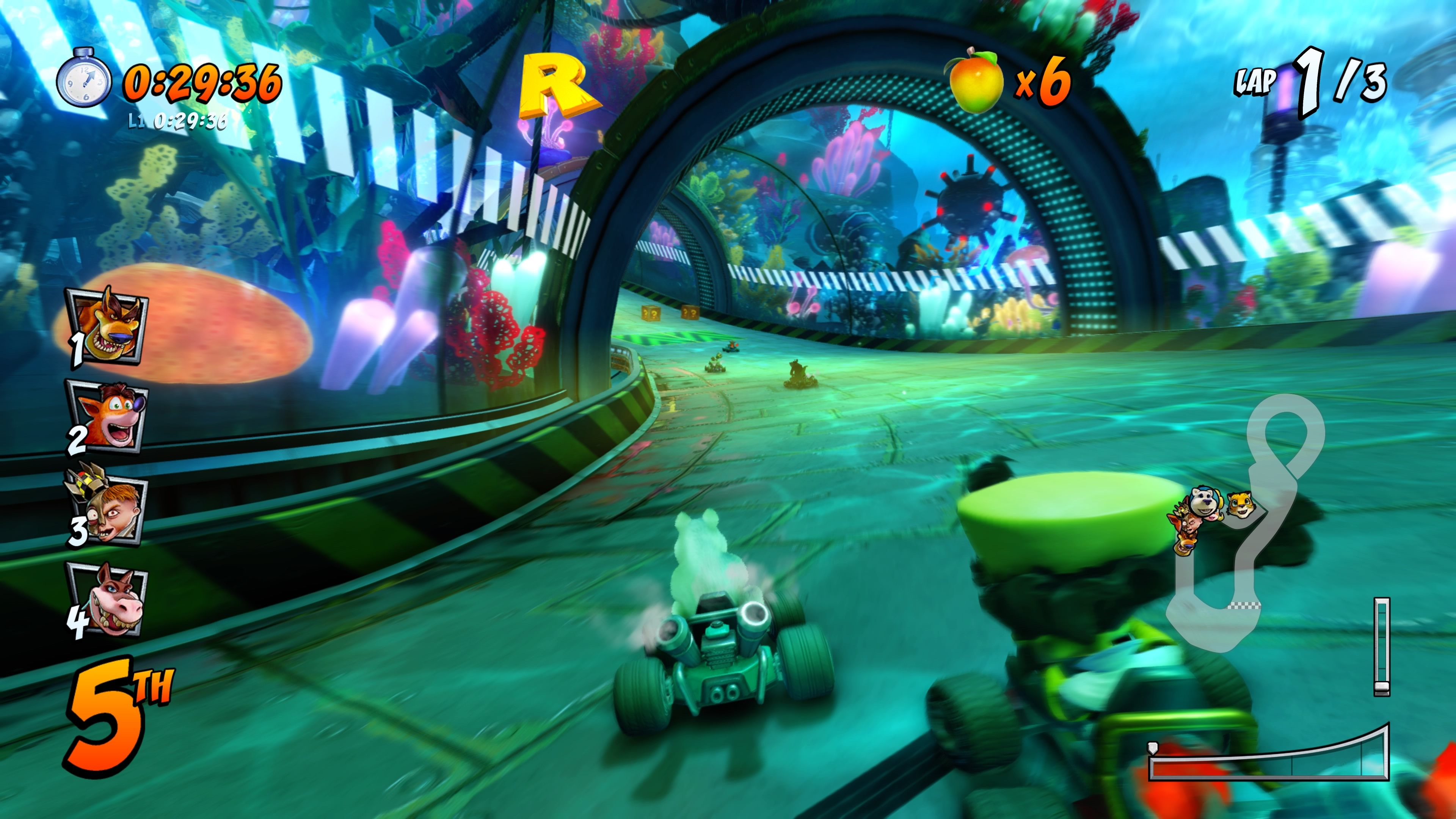 Crash Team Racing Nitro-Fueled for MacBook gameplay