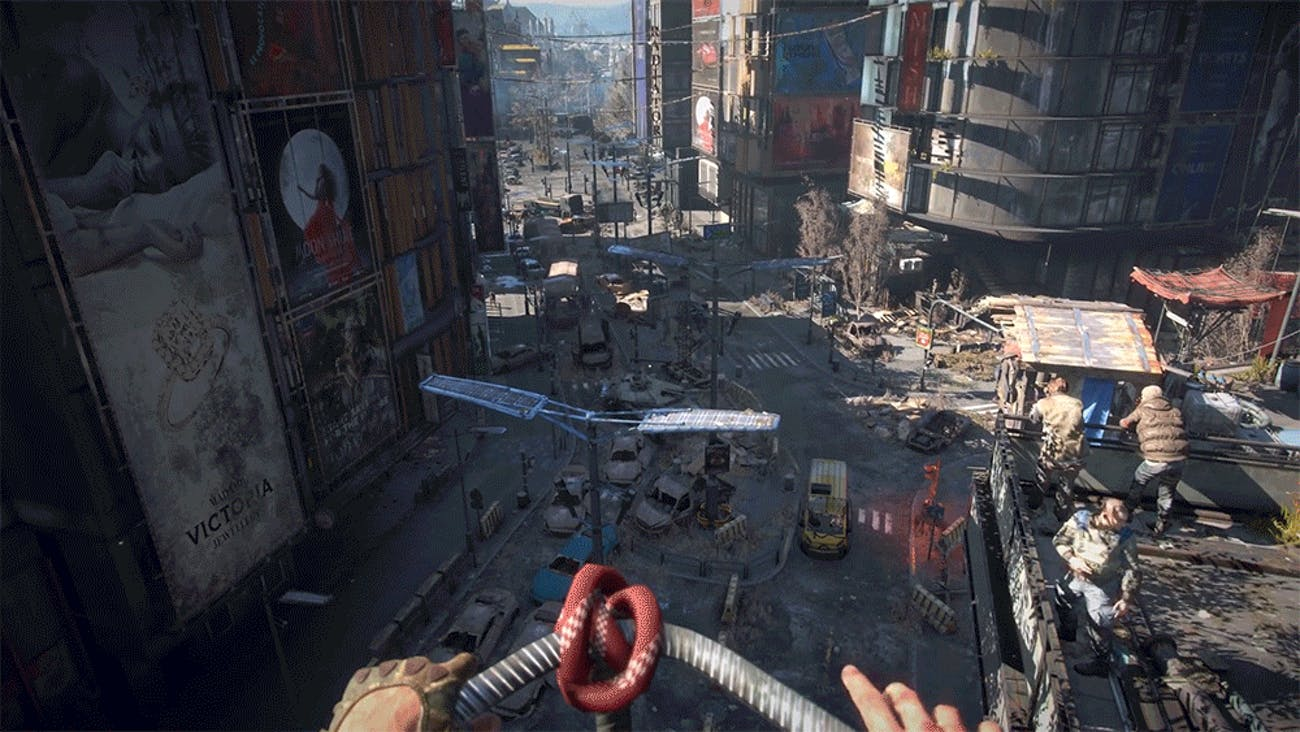 Dying Light 2 for MacBook gameplay