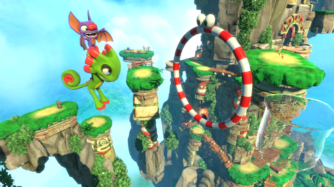 Yooka-Laylee MacBook OS X Version gameplay