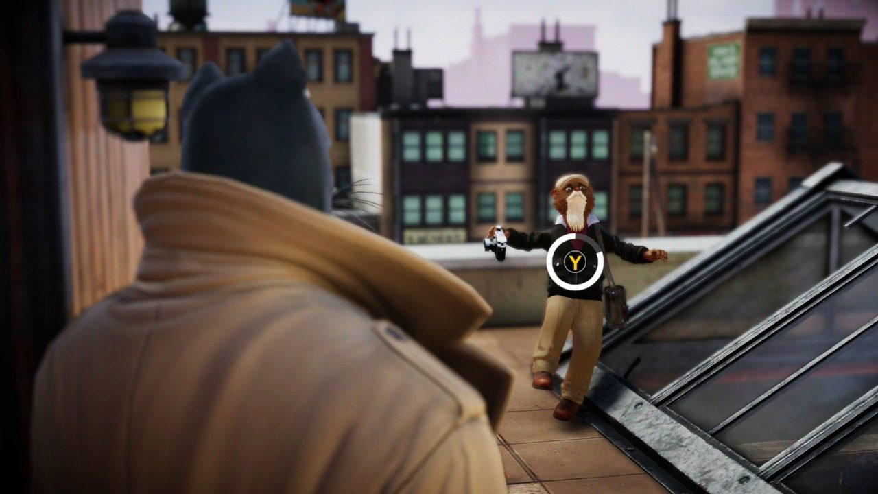 Blacksad: Under the Skin for MacBook gameplay