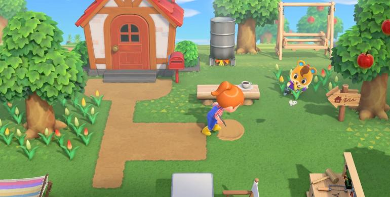 Animal Crossing: New Horizons for macOS gameplay