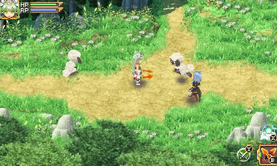 Rune Factory 4 for MacBook gameplay