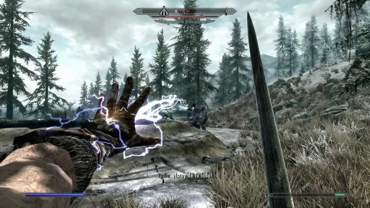 The Elder Scrolls V: Skyrim for MacBook gameplay