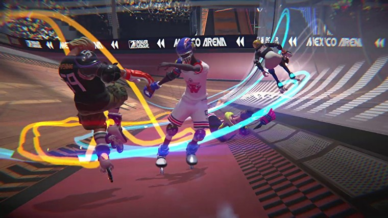 Roller Champions for macOS gameplay