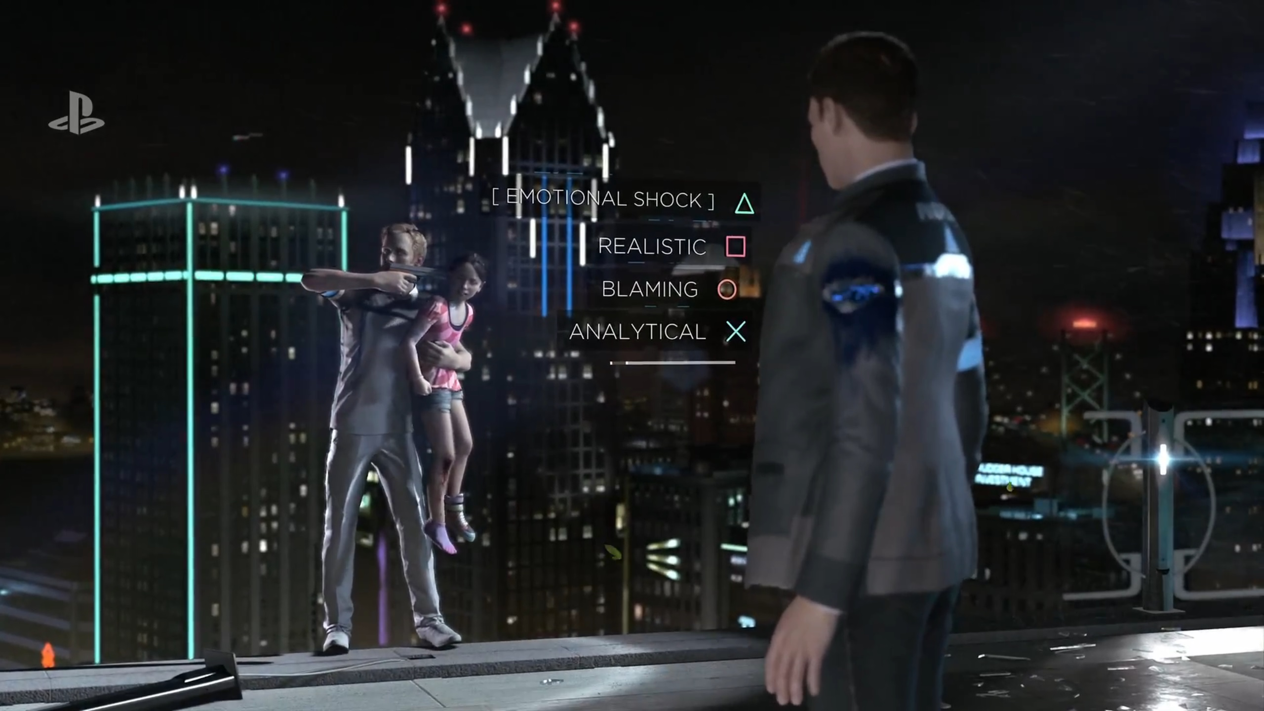 Detroit Become Human for MacBook gameplay