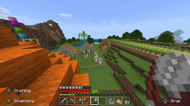 Minecraft MacBook Version gameplay