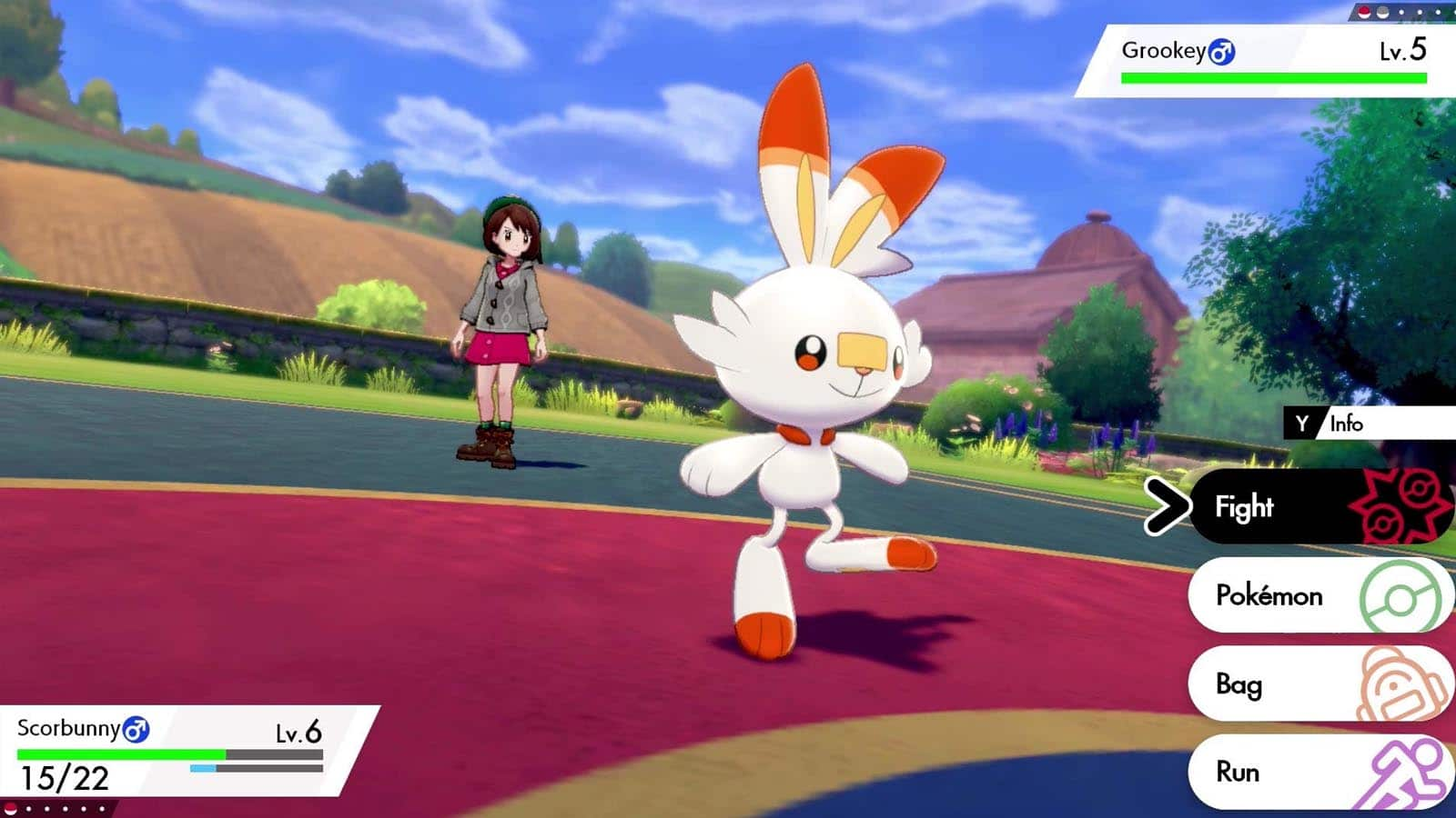 Pokémon Sword and Shield for MacBook gameplay
