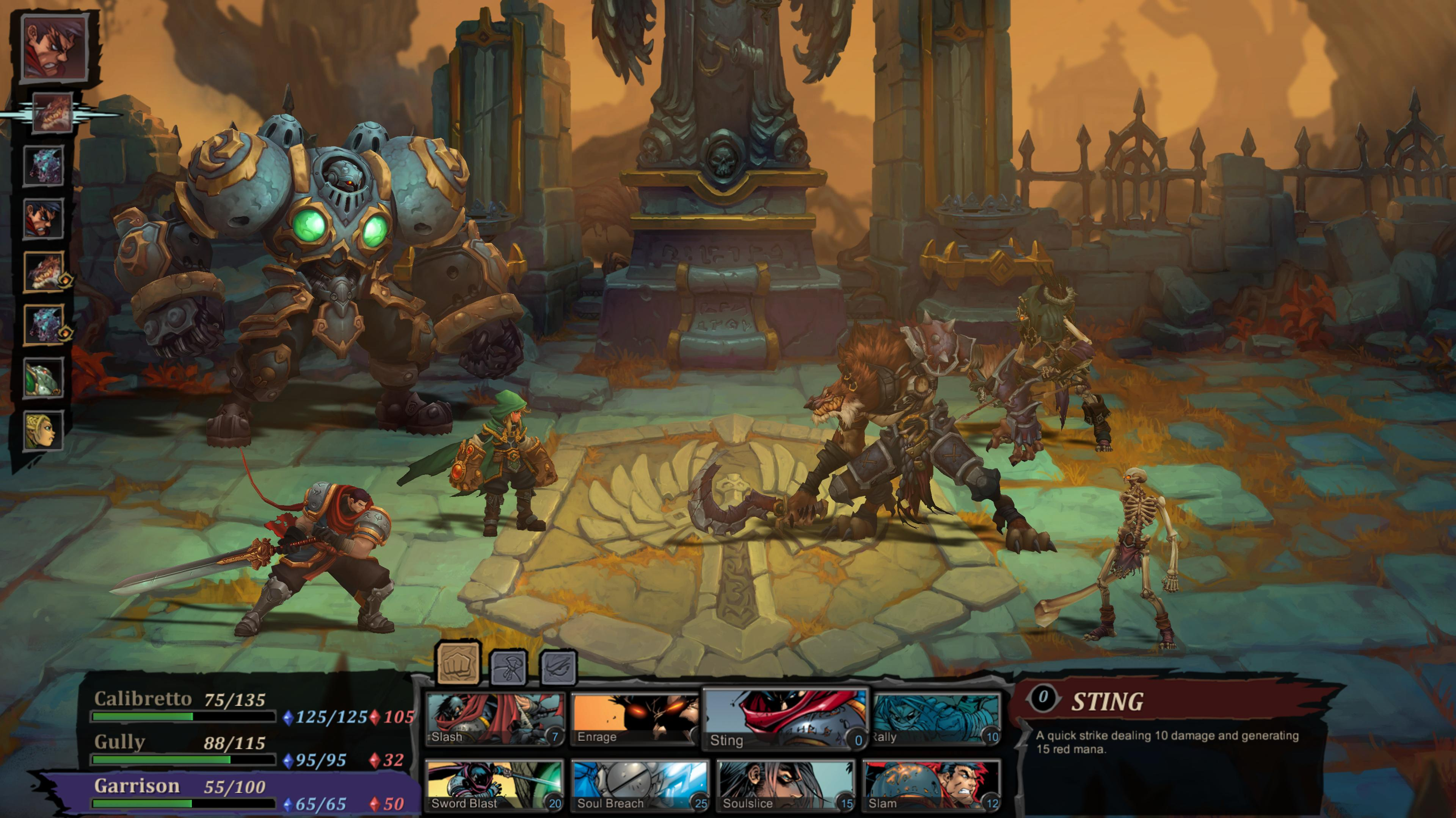 Battle Chasers: Nightwar for MacBook gameplay