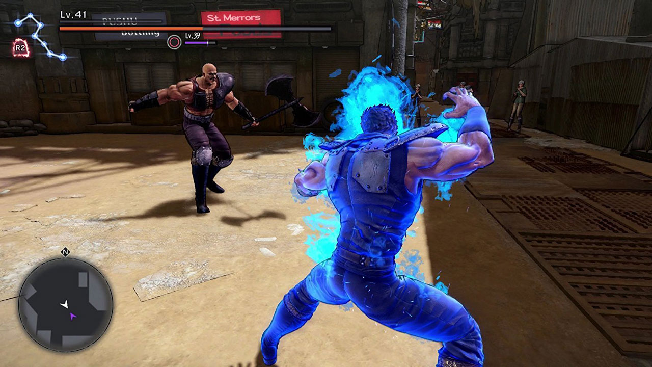 Fist of the North Star: Lost Paradise for MacBook gameplay