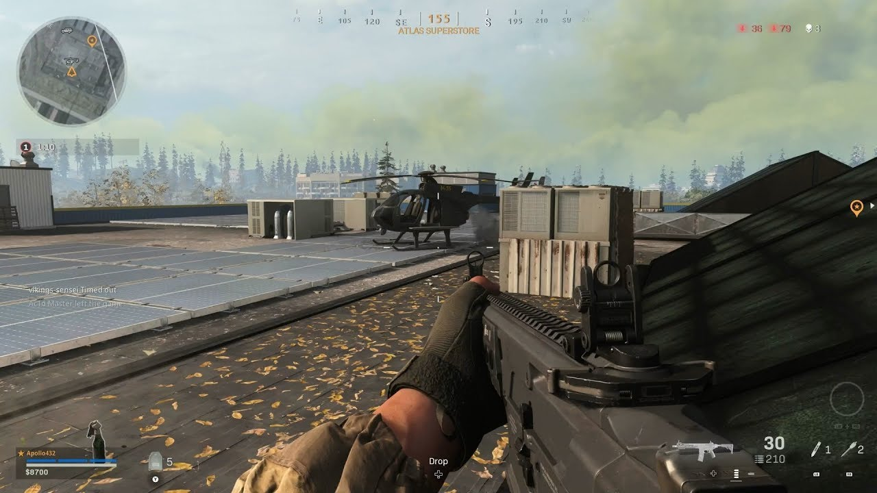 Call of Duty: Warzone for MacBook gameplay