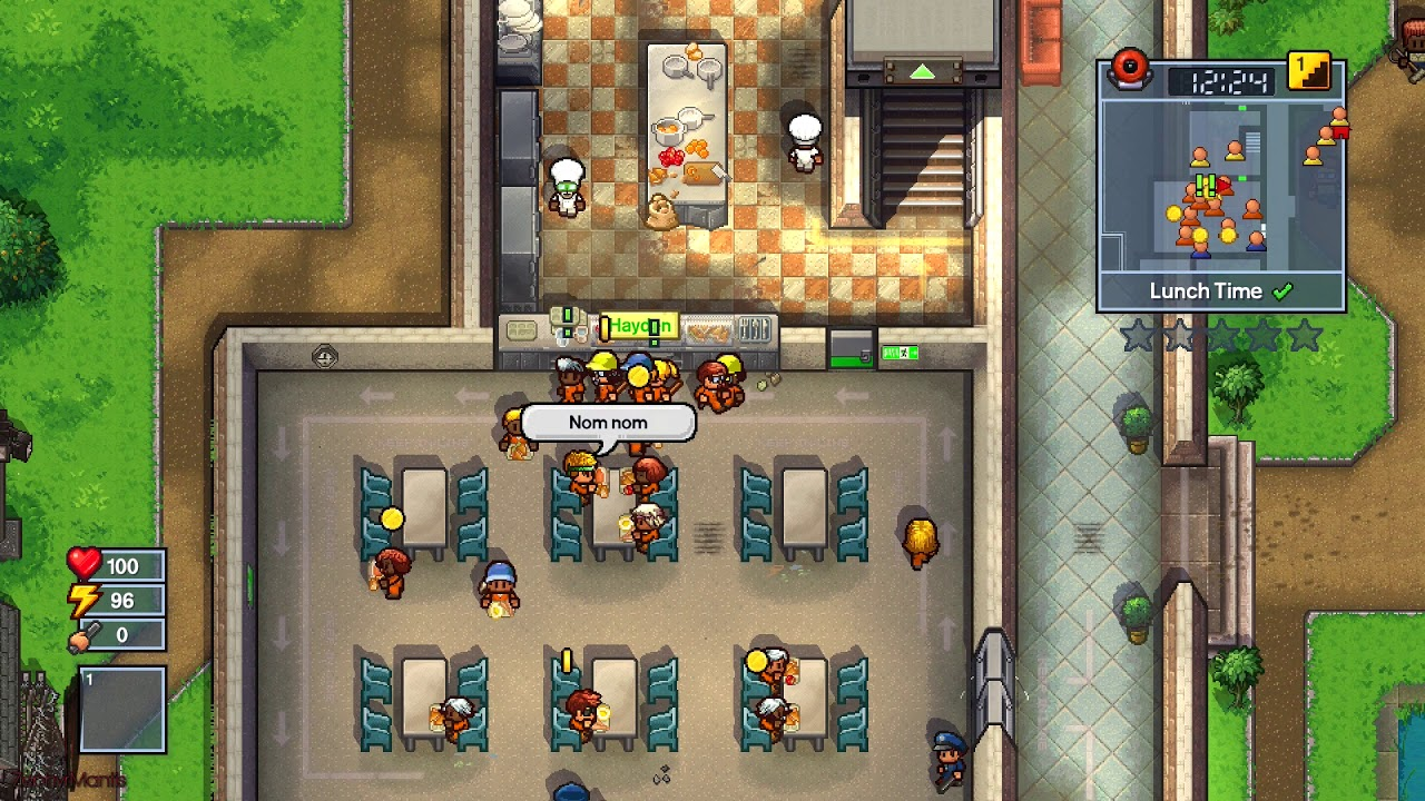 The Escapists 2 for macOS gameplay