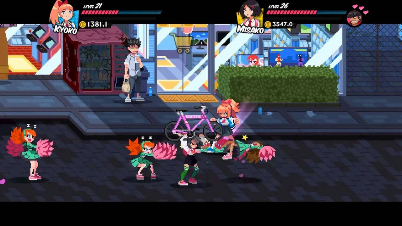 River City Girls for MacBook gameplay