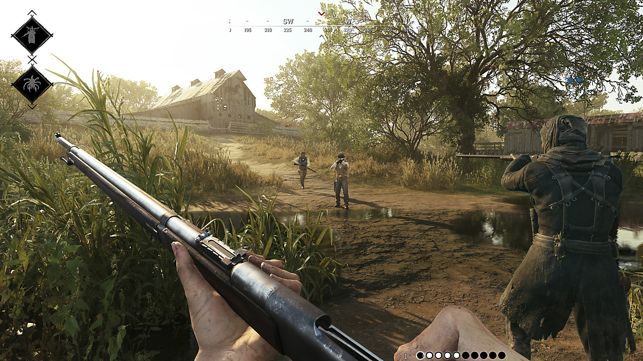 Hunt: Showdown MacBook Version gameplay