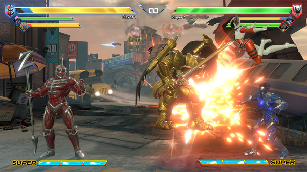 Power Rangers: Battle for the Grid for MacBook gameplay