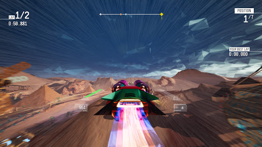 Redout MacBook OS X Version gameplay