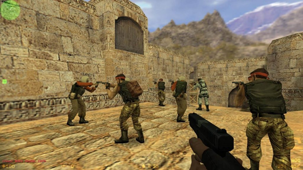 Counter-Strike 1.6 for MacBook gameplay