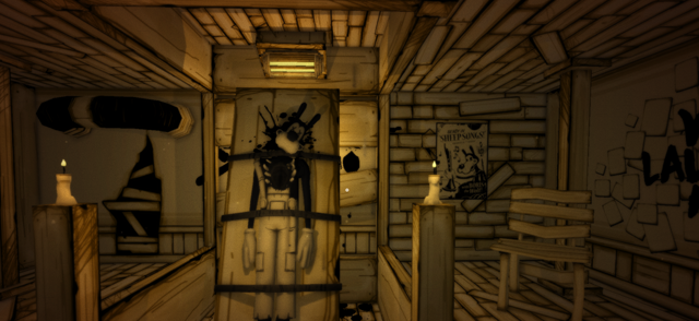 Bendy and the Ink Machine for MacBook gameplay