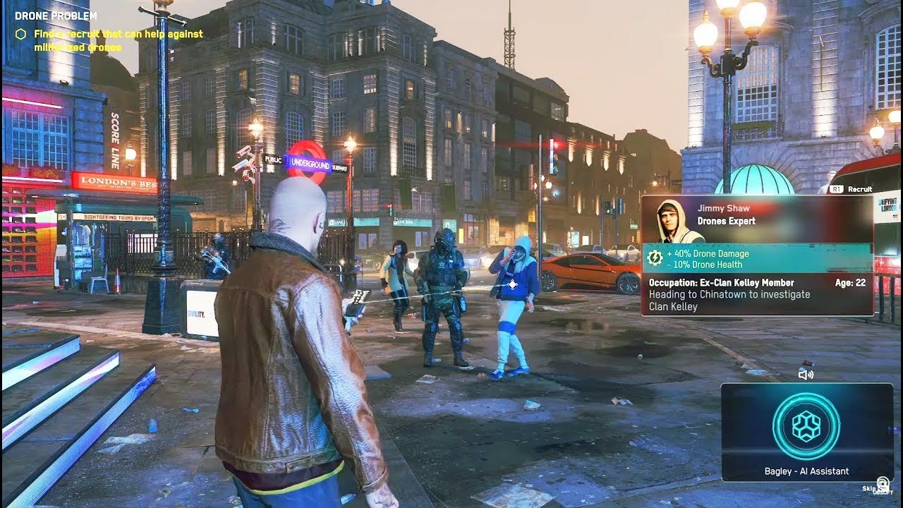 Watch Dogs: Legion for macOS gameplay