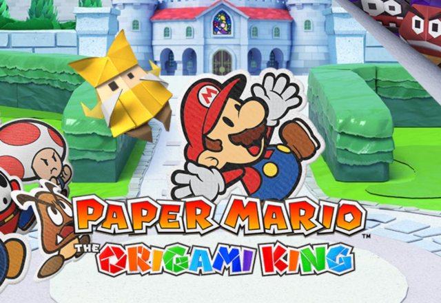 Paper Mario: The Origami King MacBook OS X Version