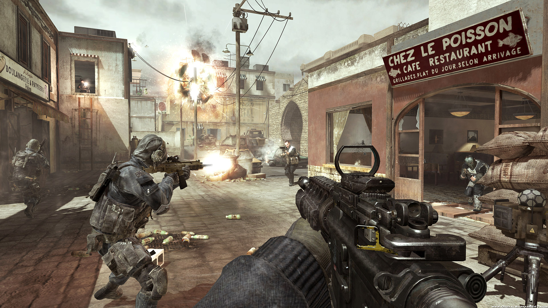 Call of Duty: Modern Warfare 3 for macOS gameplay