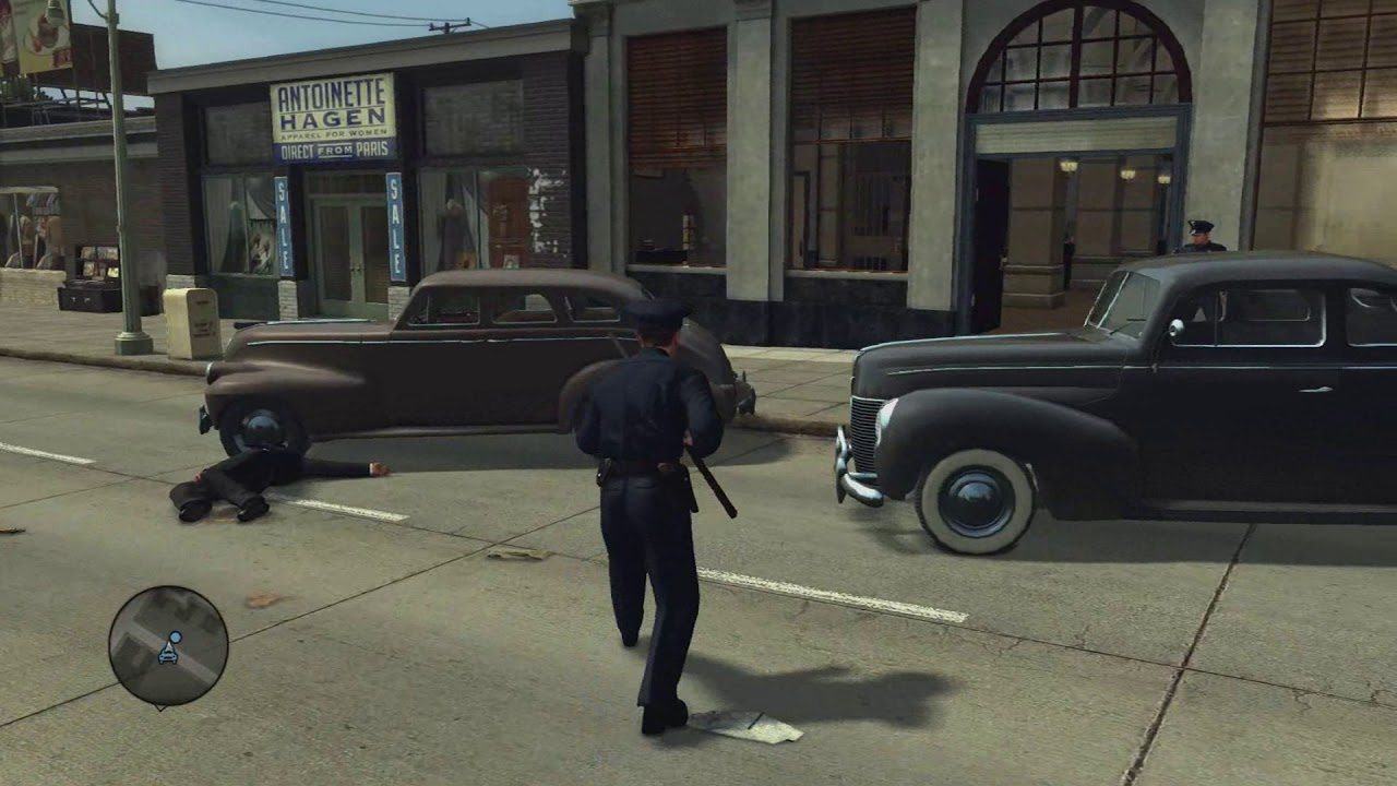 L.A. Noire MacBook Version gameplay