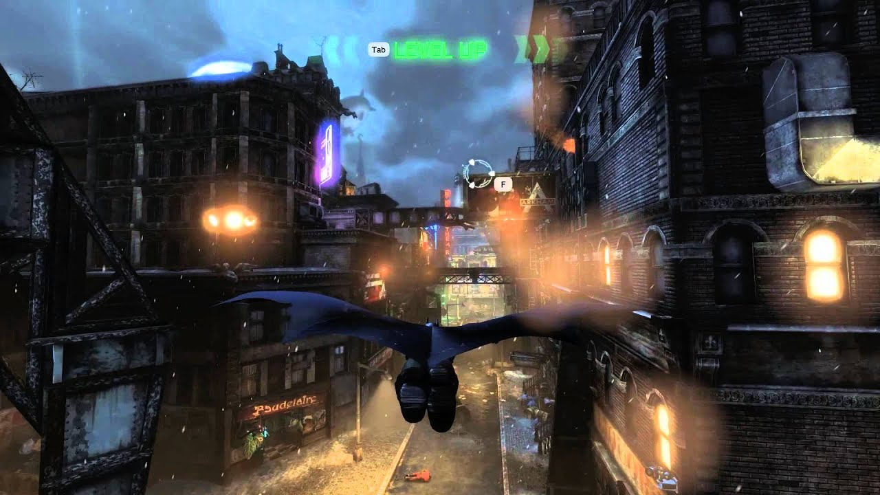 Batman: Arkham City for MacBook gameplay