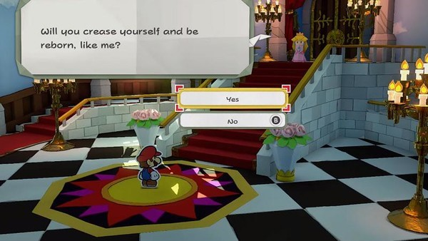 Paper Mario: The Origami King MacBook OS X Version gameplay