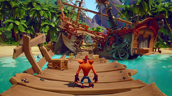 Crash Bandicoot 4: It's About Time for MacBook gameplay