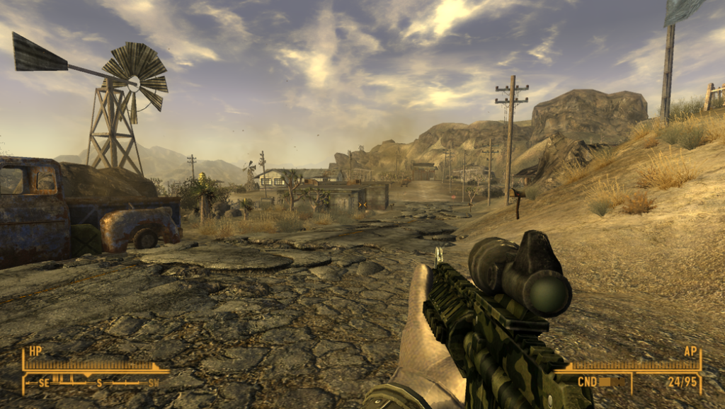 Fallout: New Vegas for MacBook gameplay