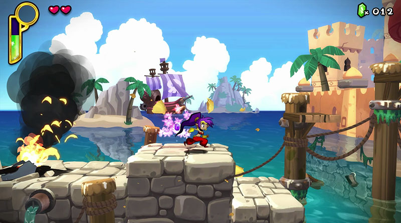 Shantae MacBook Version gameplay