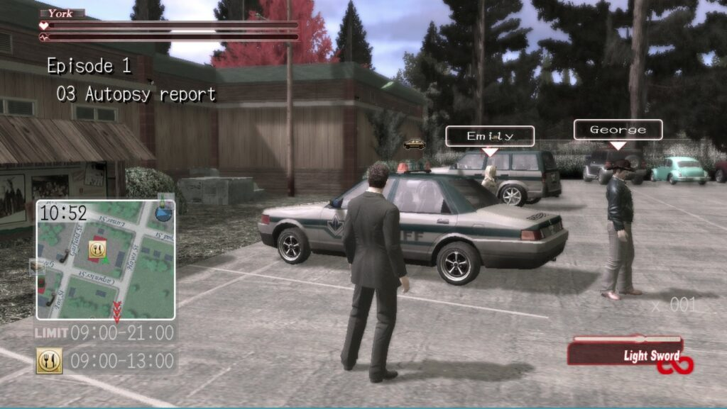 Deadly Premonition MacBook Version gameplay