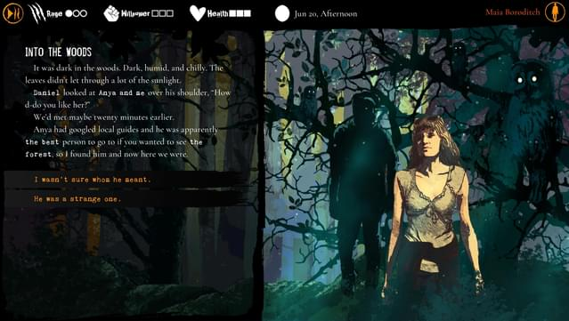 Werewolf: The Apocalypse – Heart of the Forest for macOS gameplay
