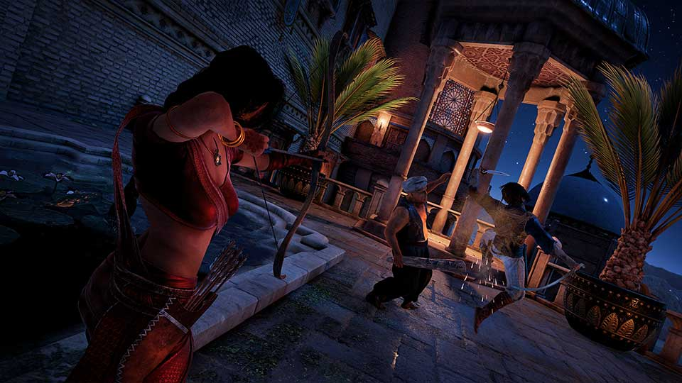 Prince of Persia: The Sands of Time Remake for MacBook gameplay